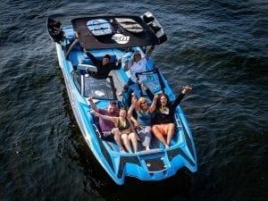 Blue Boat Art