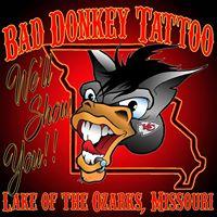 Bad Donkey Tattoo