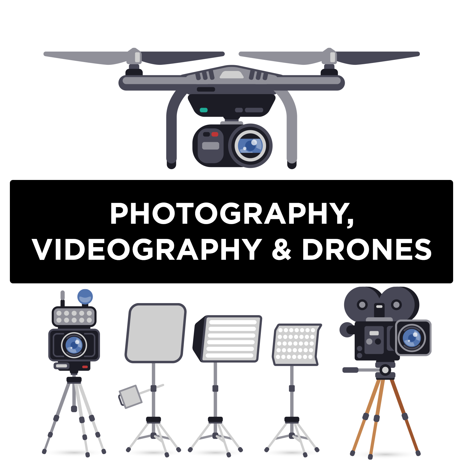 Photography, Videography, and Drones