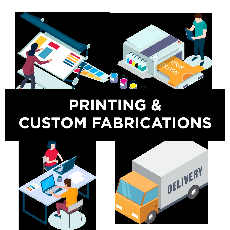 Printing & Custom Fabrication